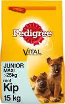 Pedigree Vital Protection Junior Maxi - Kip & Rijst - 15 kg