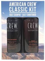 American Crew Classic Kit, Saily Shampoo en Daily Conditioner x 250ml