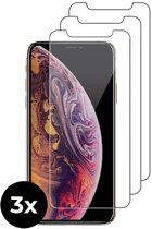 3x Tempered Glass screenprotector - iPhone Xs