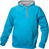 Carmel hooded sweat 280 g/m2 turquoise m