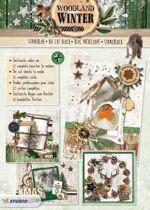Woodland Winter - Kerst 3D Stansblok - Maak 12 prachtige kerstkaarten