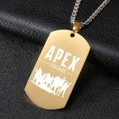 Apex Legends Ketting - Goud Wit