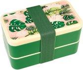 Rex London Bento Box Tropical Palm large Rexinter Bento Box Tropical Palm
