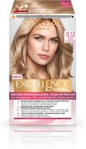 L'Oréal Paris Excellence Crème Blonde Legend - 8.12 Licht parelmoer blond - Haarverf