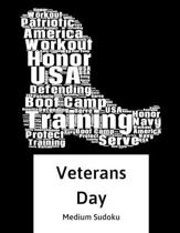 Navy Veterans Day: 100 Easy Puzzles In Large Print Veterans Day