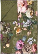 Essenza Fleur - Bedsprei - Eenpersoons - 180x265 cm - Moss