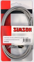 Simson Remkabel Shimano Rollerbrake RVS Zilver