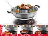 Fritel FG 2970 Culinary Fondue & Grill