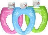 3X Toilettrainer kinderen Kleur  Roze  Blauw Groen