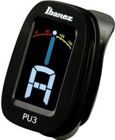 Ibanez PU3 Clip Tuner Zwart