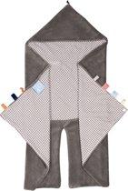 Wrap Blanket Trendy Wrapping Hippo Grey