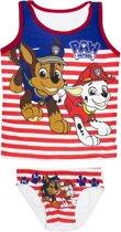 Nickelodeon Paw Patrol - ondergoedset jongens - rood/wit - 6-8 jaar