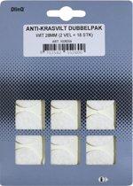 Qlinq Anti-krasvilt Dubbel Pak - Wit - 28 mm