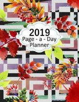 Page a Day Planner 2019