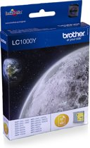 Brother LC-1000Y - Inktcartridge / Geel