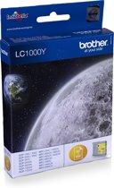 Brother LC-1000Y - Inktcartridge / Geel