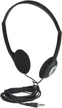 Manhattan Stereo Headphones Circumaural Zwart