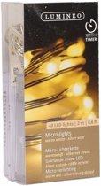 Micro kerstverlichting warm wit 40 lampjes