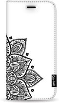 Casetastic Wallet Case White Samsung Galaxy A50 (2019) - Floral Mandala
