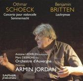 Othmar Schoeck: Concerto pour violoncello; Sommernacht; Benjamin Britten: Lachrymae