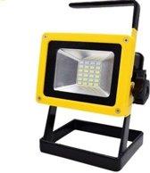 PO-7253 Oplaadbare draadloze LED werklamp 30W RGB - drie standen