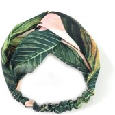 Haarband Botanic Jungle | Coral Leafs | Katoen Bandana | Fashion Favorite