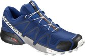 Salomon SPEEDCROSS 4 Hardloopschoenen - Heren - Mazarine Blue/ Black / White