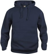 Clique Basic hoody Donker Navy maat L