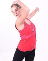 Yoga Top Mudra Mala naadloos Rood