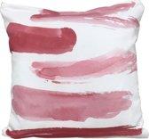 Sweet Living Sierkussen Pink Paint Vierkant