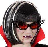 Halloween/horror vleermuis bril voor volwassenen - Halloween verkleed accessoire