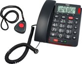 Fysic FX-3850 Big Button alarmphone with s.o.s. and alarmbuttonnecklace