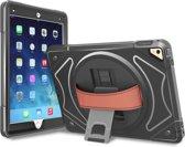 360 graden draaibare, rugged, hybride, iPad 9.7 (2017) / iPad 9.7 (2018) / iPad Air 2 / iPad Pro 9.7 case met screenprotector