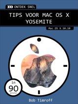 Van Duuren Media 08Ontdek snel: Tips voor Mac OS X Yosemite 208pagina's Nederlands softwareboek & -handleiding