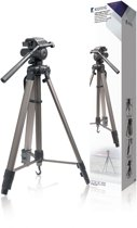 Camera/Video Tripod Pan & Tilt 161 cm Black/Silver