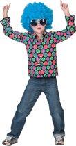 Jaren 80 & 90 Kostuum   Disco Dot Hemd Jongen   Maat 140   Carnaval kostuum   Verkleedkleding