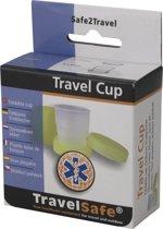 Travelsafe Travelcup, opvouwbaar bekertje