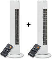 Clean Air Optima CA-405 - Torenventilator met ionisator - 2 stuks