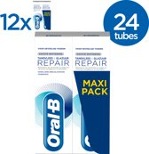 Oral-B Tandvlees & Glazuur Repair Zachte Whitening Tandpasta - Voordeelverpakking - 24x75ml