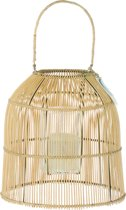 Riverdale Bamboo - Lantaarn - Natural - 48 cm