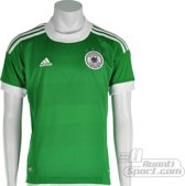 adidas - DFB Away Jersey Youth - Groen/Wit - Maat 152