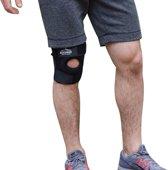 BUCHNER Kniebrace - Zwart - One Size - Unisex