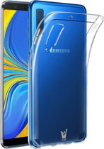 Transparant Hoesje voor Samsung Galaxy A7 (2018) Soft TPU Gel Siliconen Case iCall