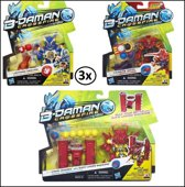 3x B-Daman Loader set 7