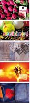 5 Luxe Cadeau-enveloppen - 5 verschillende designs