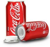 Coca Cola frisdrank blikje geheim geldkistje bewaarblik - Geheime kluizen en spaarpotten