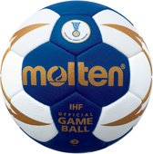 Molten Handbal - blauw/wit/goud maat 2