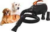 Hondenfohn - Honden Fohn - Dierenborstel-  Waterblazer hond - 2200W Incl. warmte motor