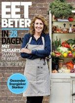 Boekomslag van 'Eet beter in 28 dagen met huisarts Tamara de Weijer'
