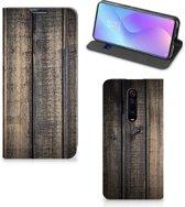 Xiaomi Redmi K20 Pro Book Wallet Case Steigerhout